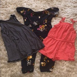 LOT of girls summer clothes